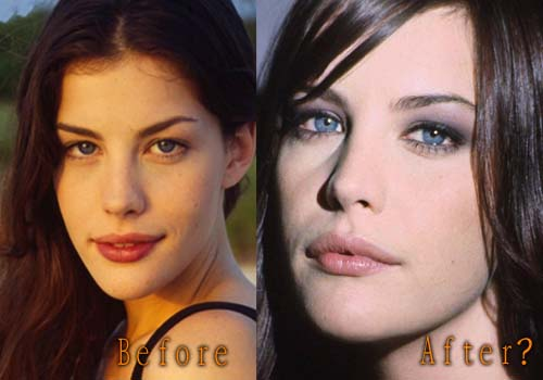 Liv Tyler Lip Augmentation