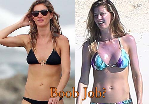 Gisele Bundchen Boobs Job