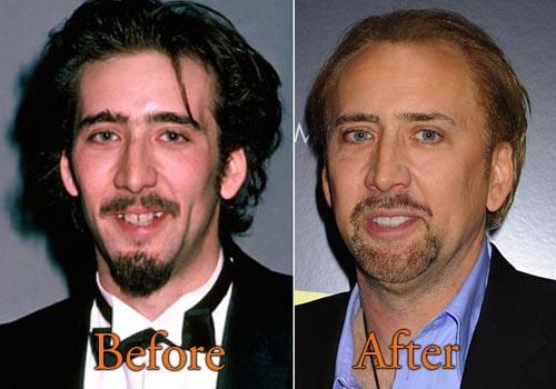 Nicolas Cage Face Off No Face Nicolas Cage Plastic S...