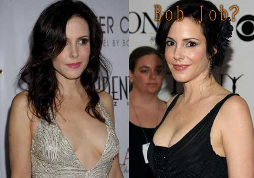 Mary-Louise Parker boob job