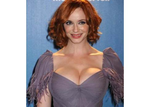 Christina Hendricks Plastic Surgery Boob Job